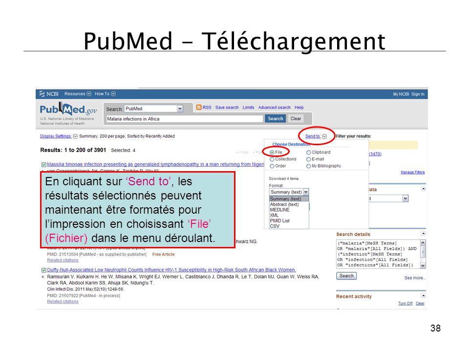 PubMed - Téléchargement