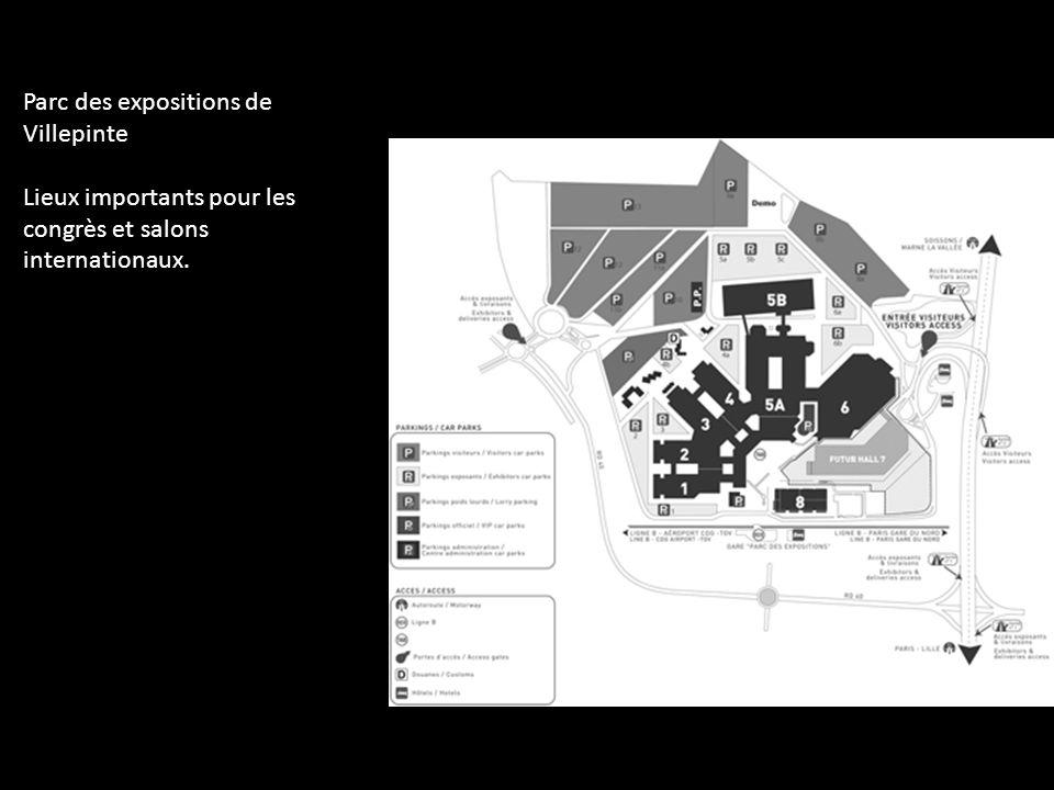 Parc des expositions de Villepinte