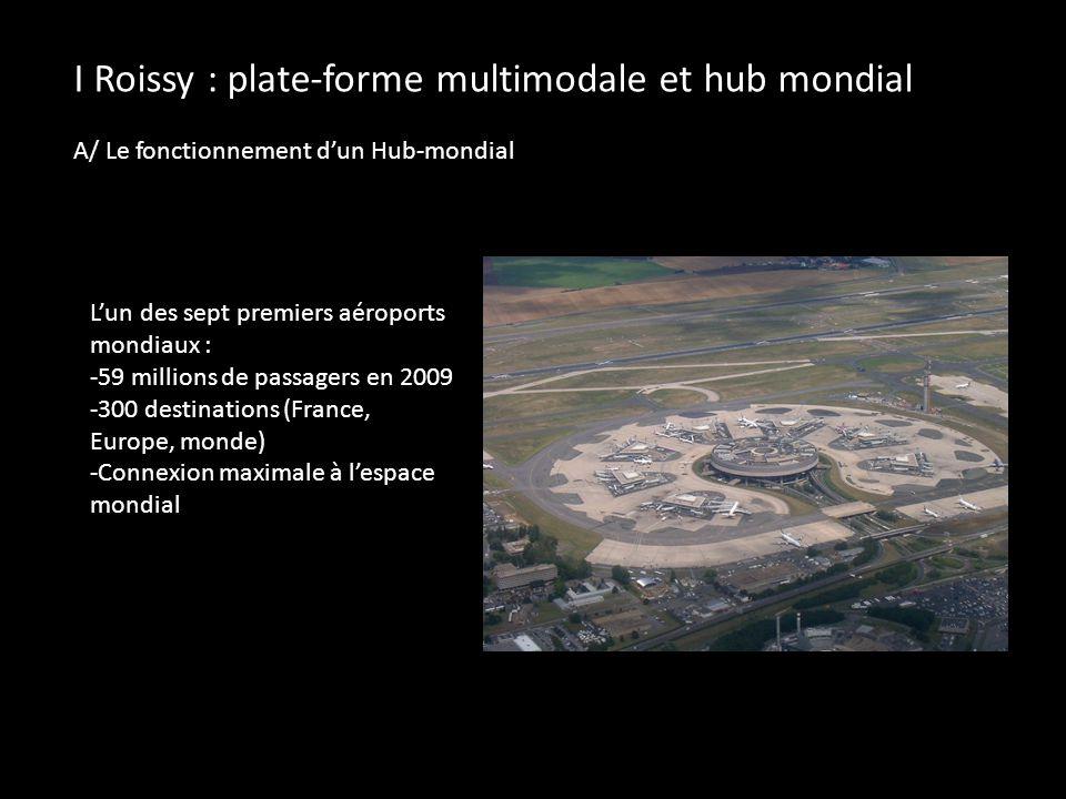 I Roissy : plate-forme multimodale et hub mondial