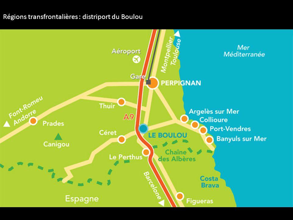 Régions transfrontalières : distriport du Boulou