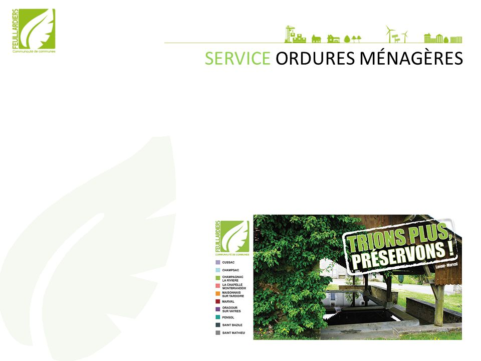 SERVICE ORDURES MÉNAGÈRES