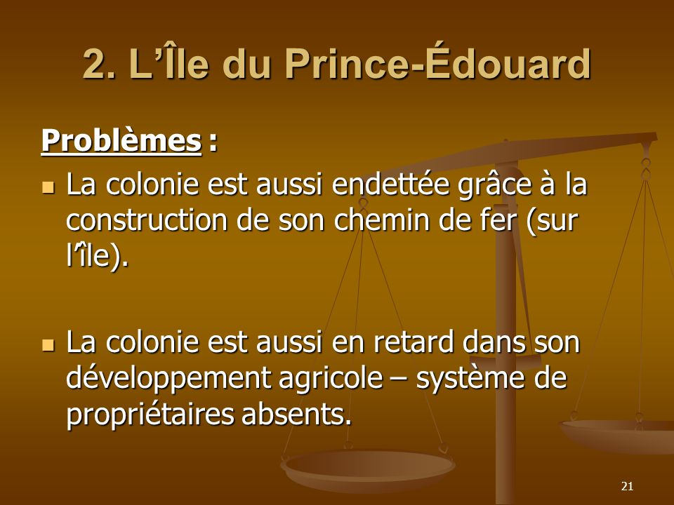 2. L'Île du Prince-Édouard