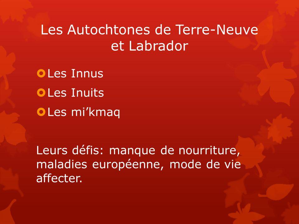 Les Autochtones de Terre-Neuve et Labrador