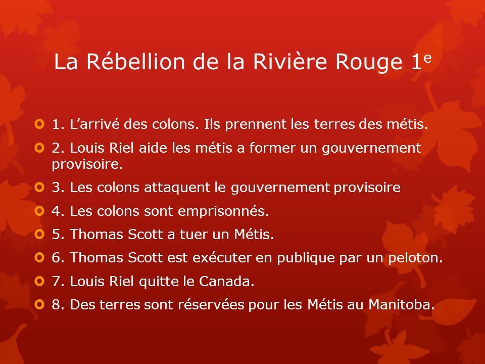 La Rébellion de la Rivière Rouge 1e