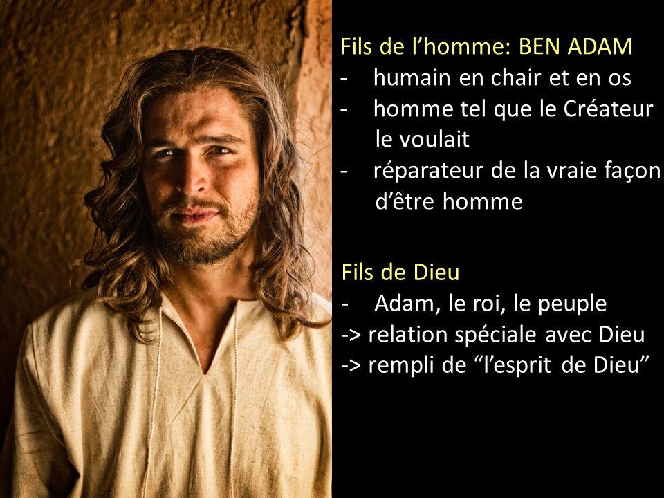 Fils de l'homme: BEN ADAM