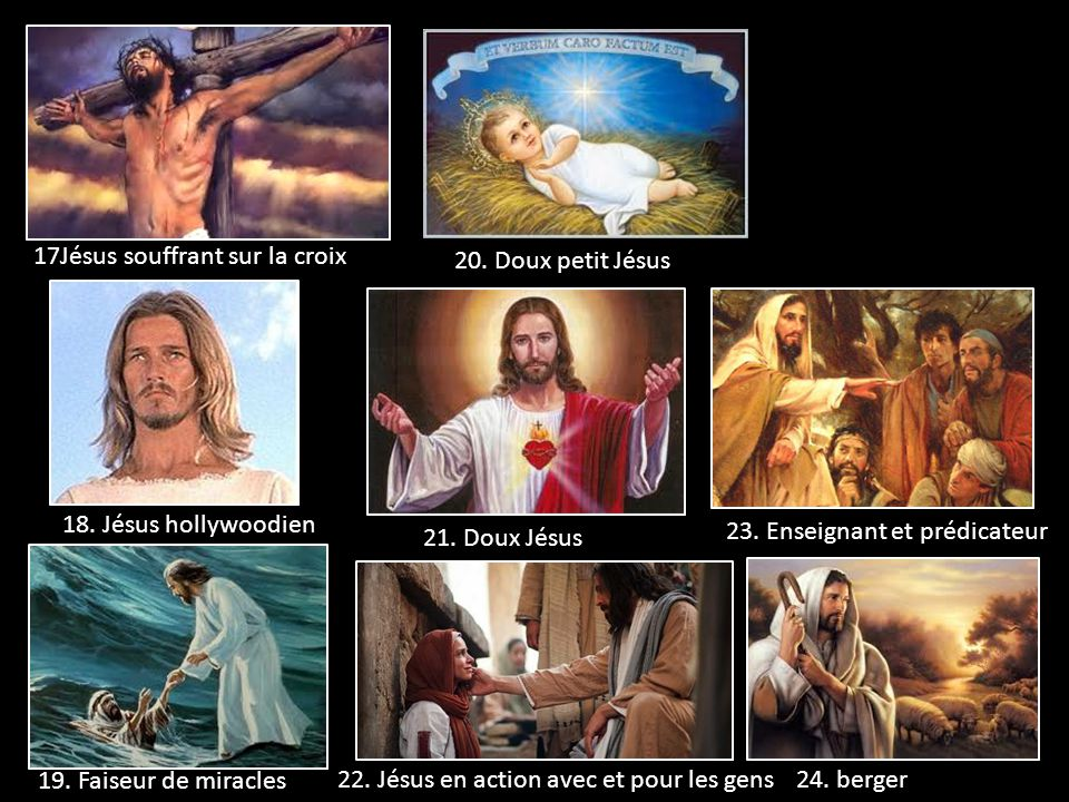 17Jésus souffrant sur la croix