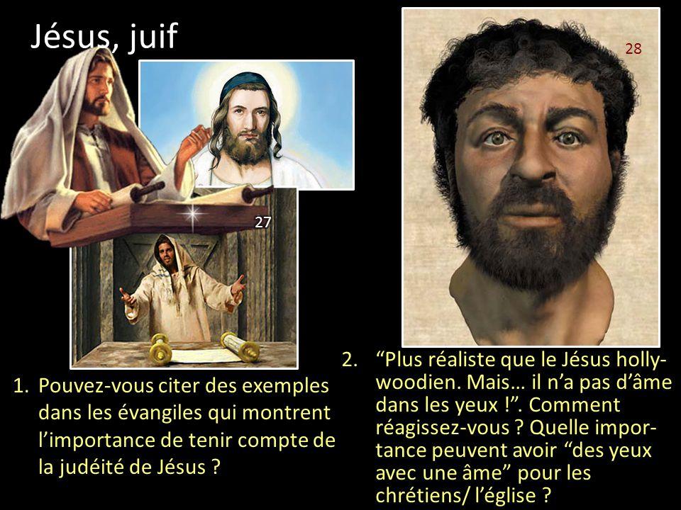 Jésus, juif 28. 27.
