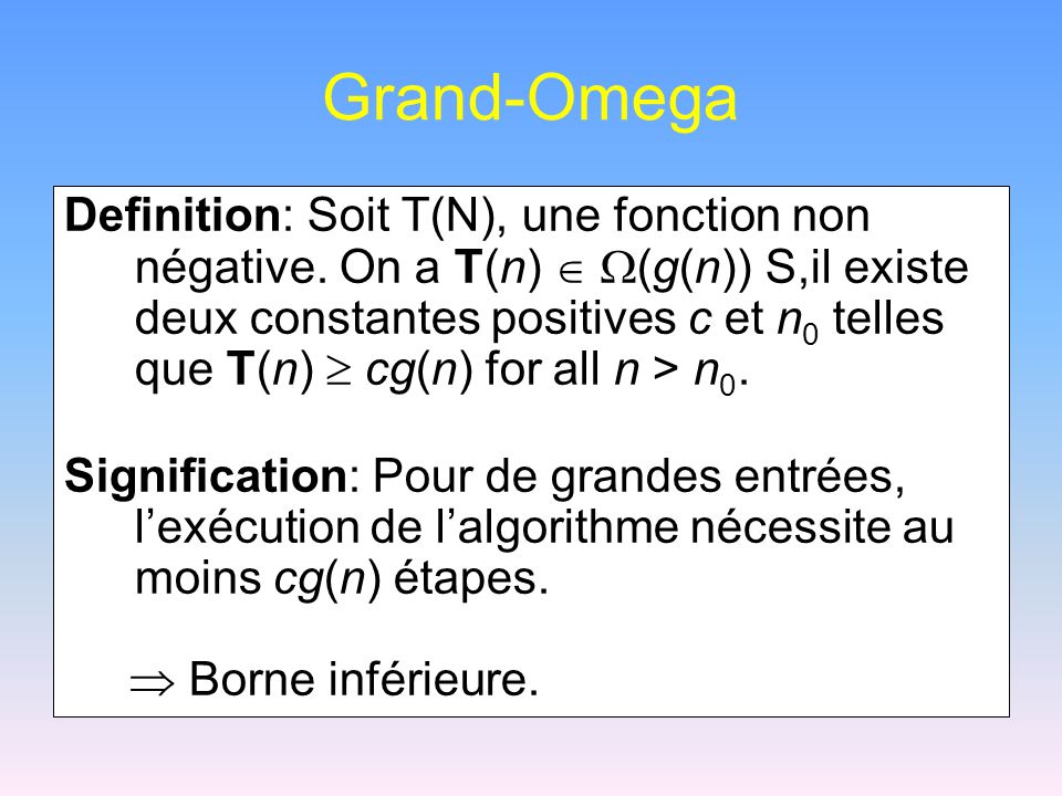 Grand-Omega