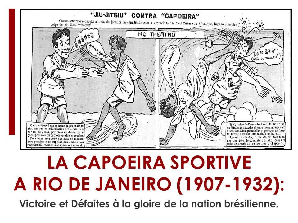 LA CAPOEIRA SPORTIVE A RIO DE JANEIRO (1907-1932):