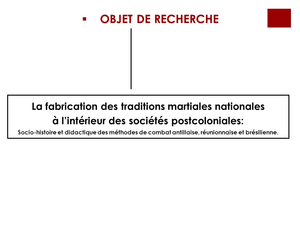La fabrication des traditions martiales nationales