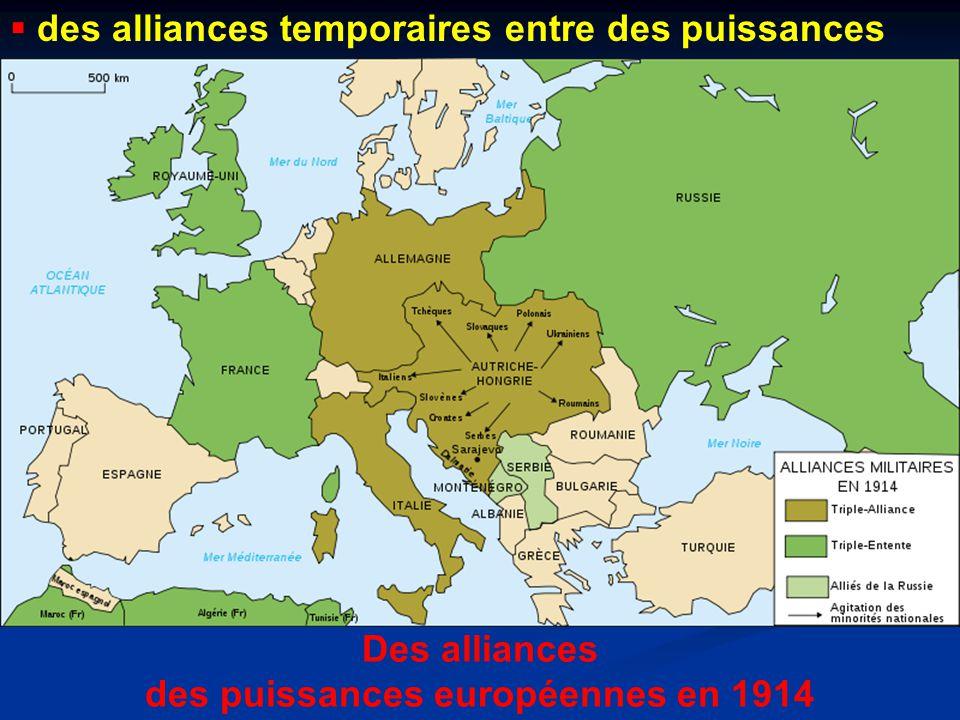 des puissances européennes en 1914