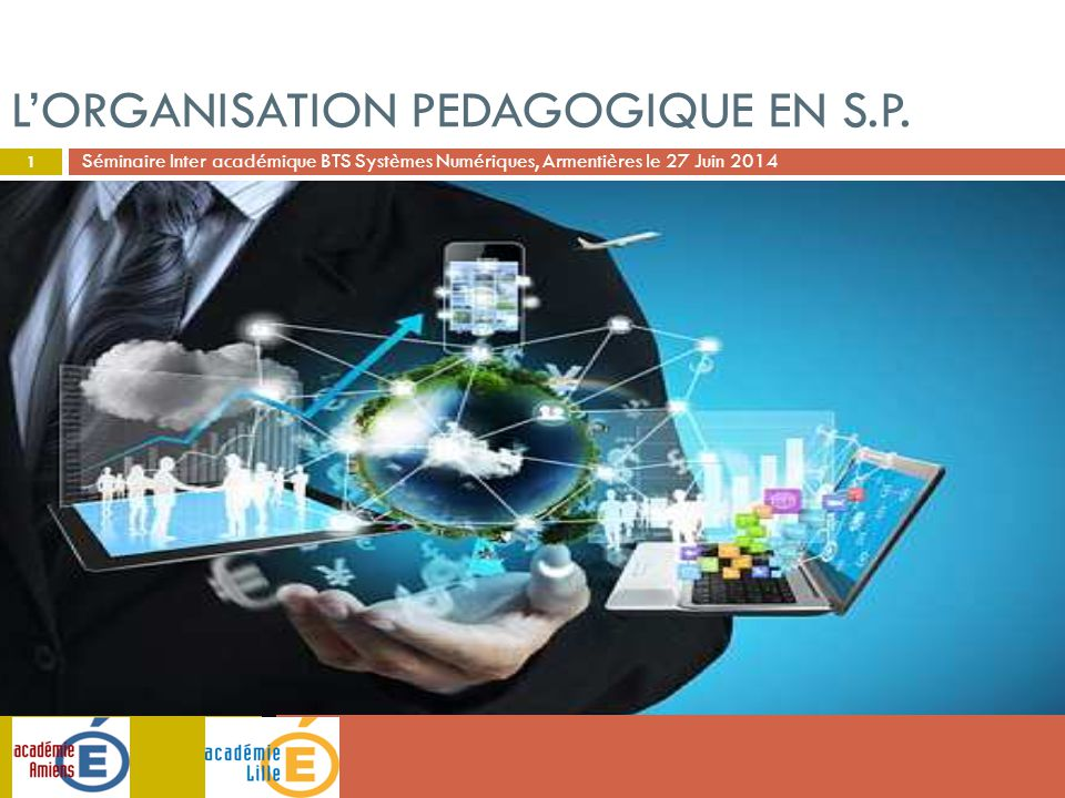 L'orgaNISATION PEDAGOGIQUE EN S.P.