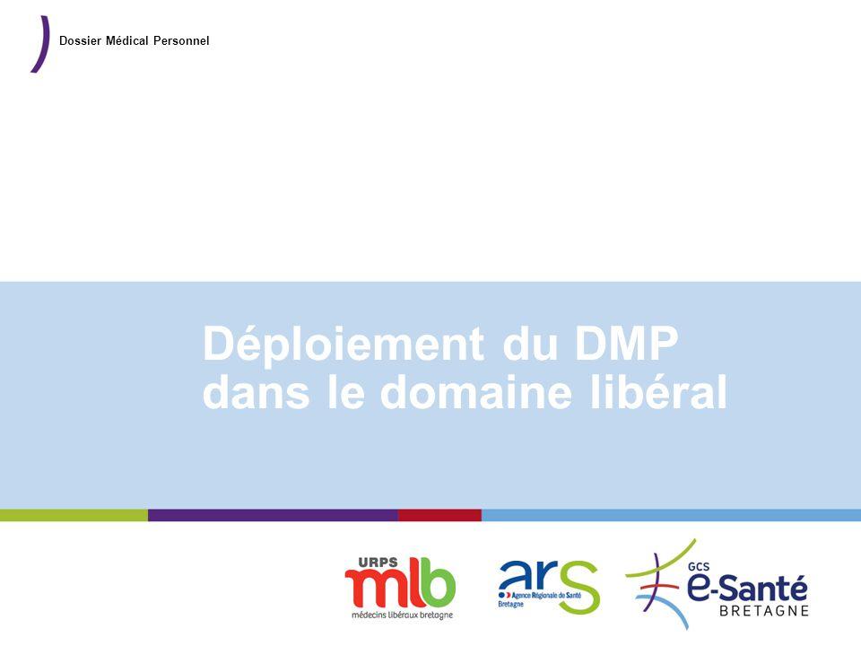 Déploiement du DMP dans le domaine libéral
