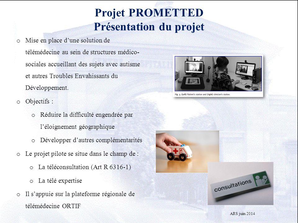 Projet PROMETTED Présentation du projet