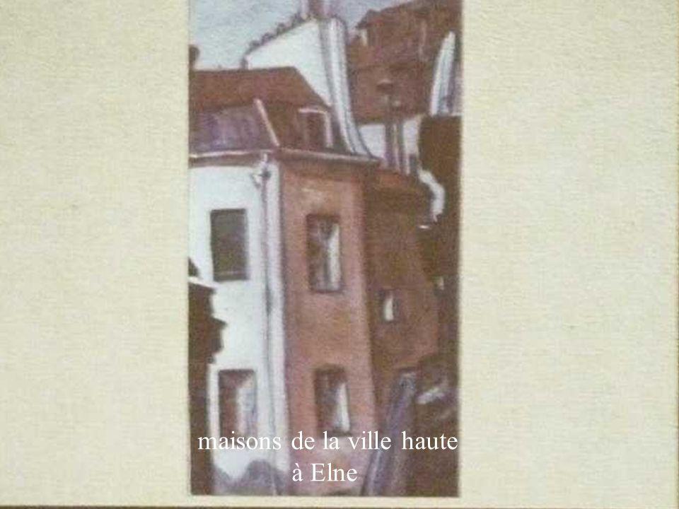 maisons de la ville haute à Elne