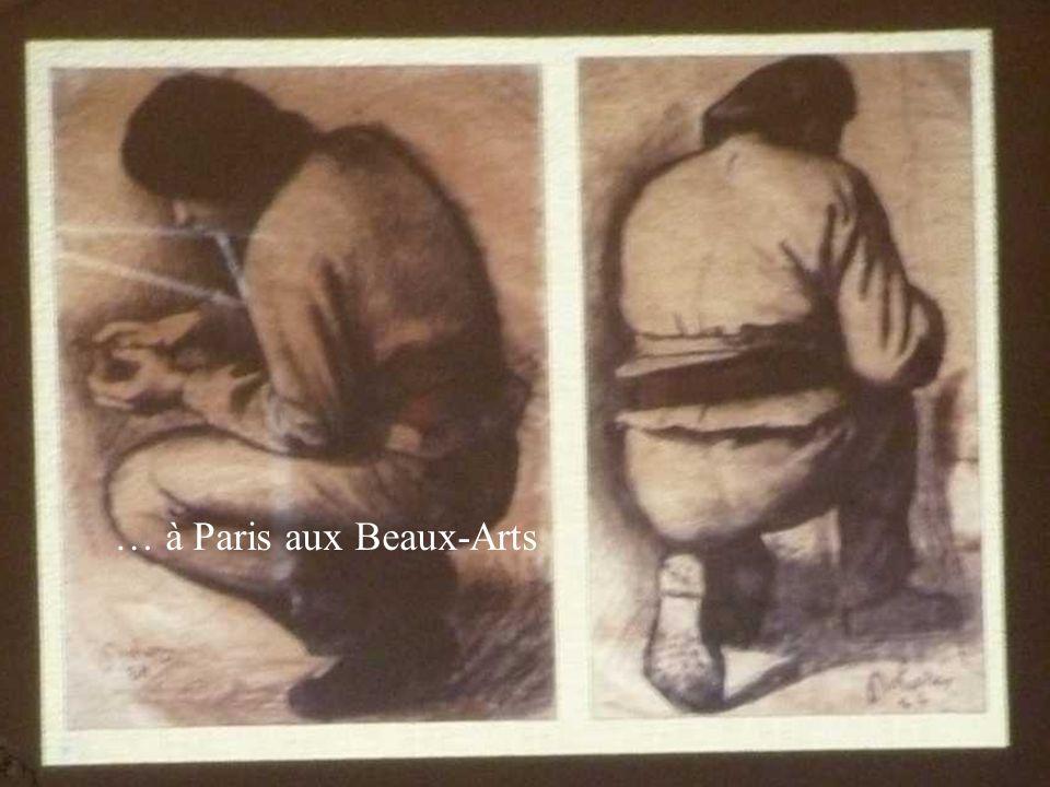 … à Paris aux Beaux-Arts