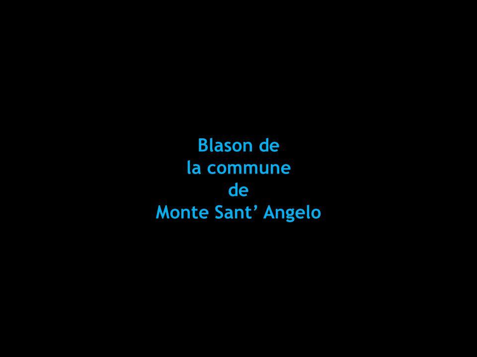 Blason de la commune de Monte Sant' Angelo