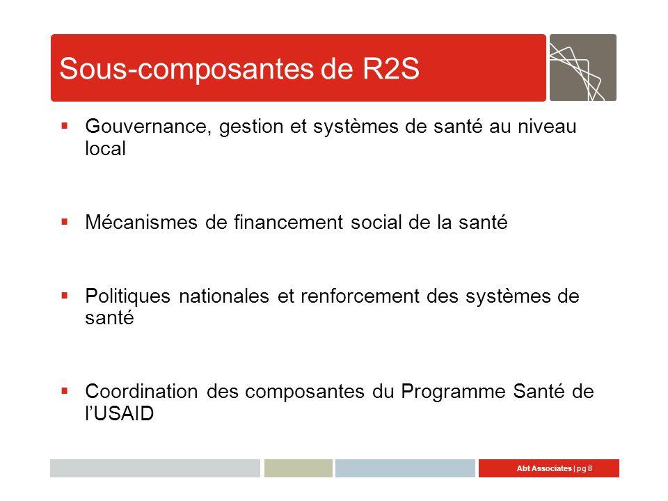 Sous-composantes de R2S