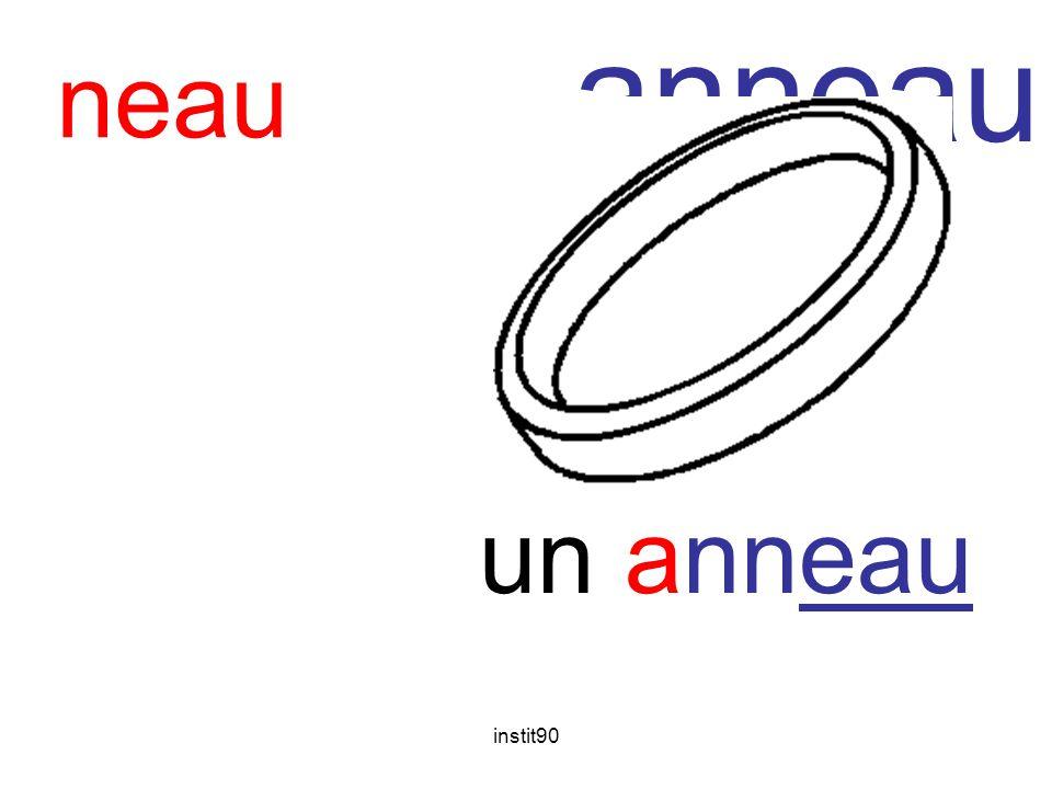 anneau neau un anneau instit90