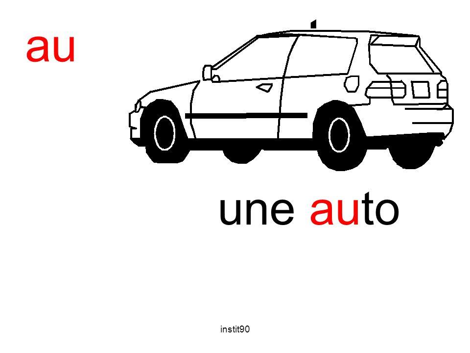 auto au une auto instit90