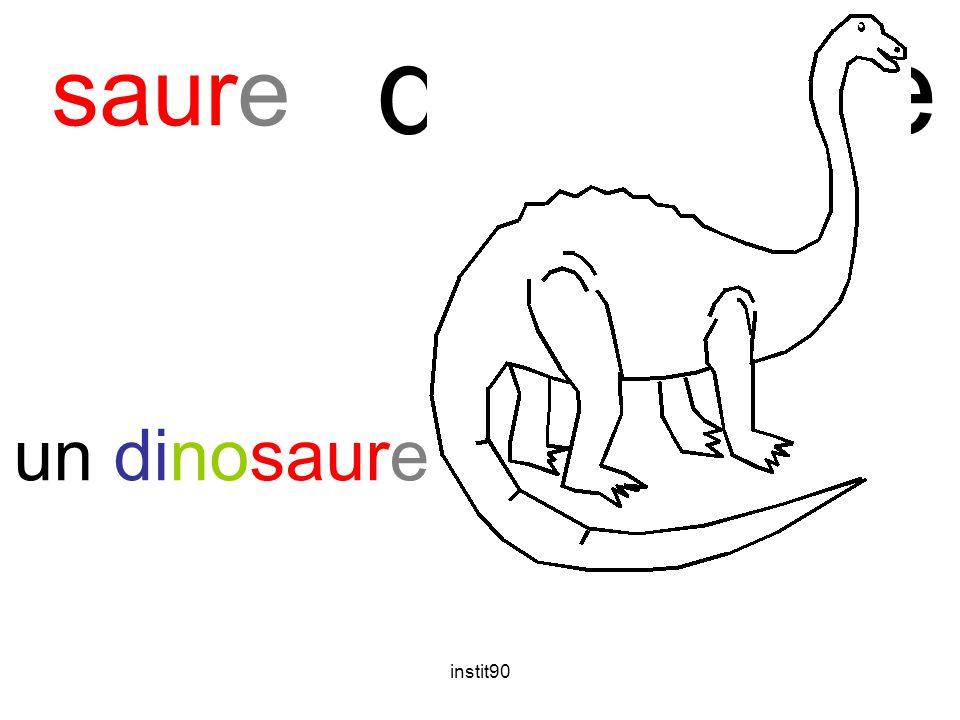 dinosaure saure un dinosaure instit90