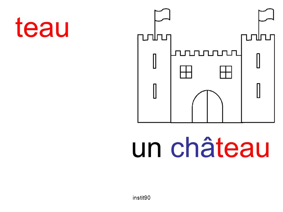 teau château un château instit90