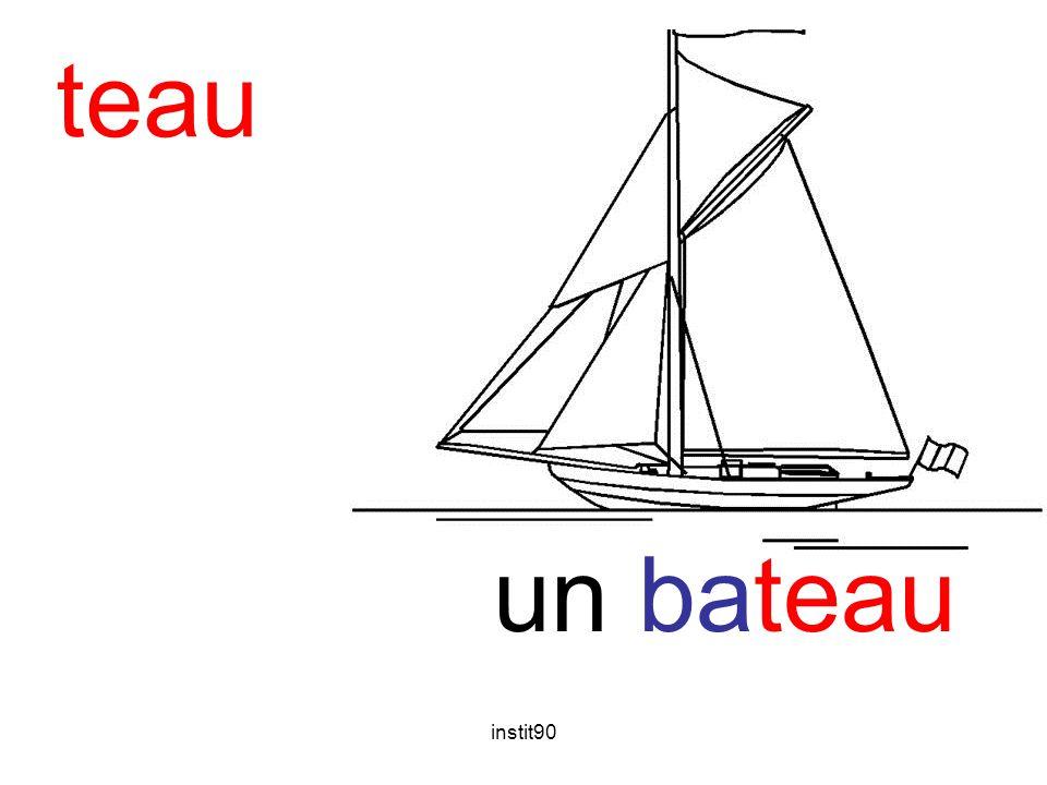 teau bateau un bateau instit90