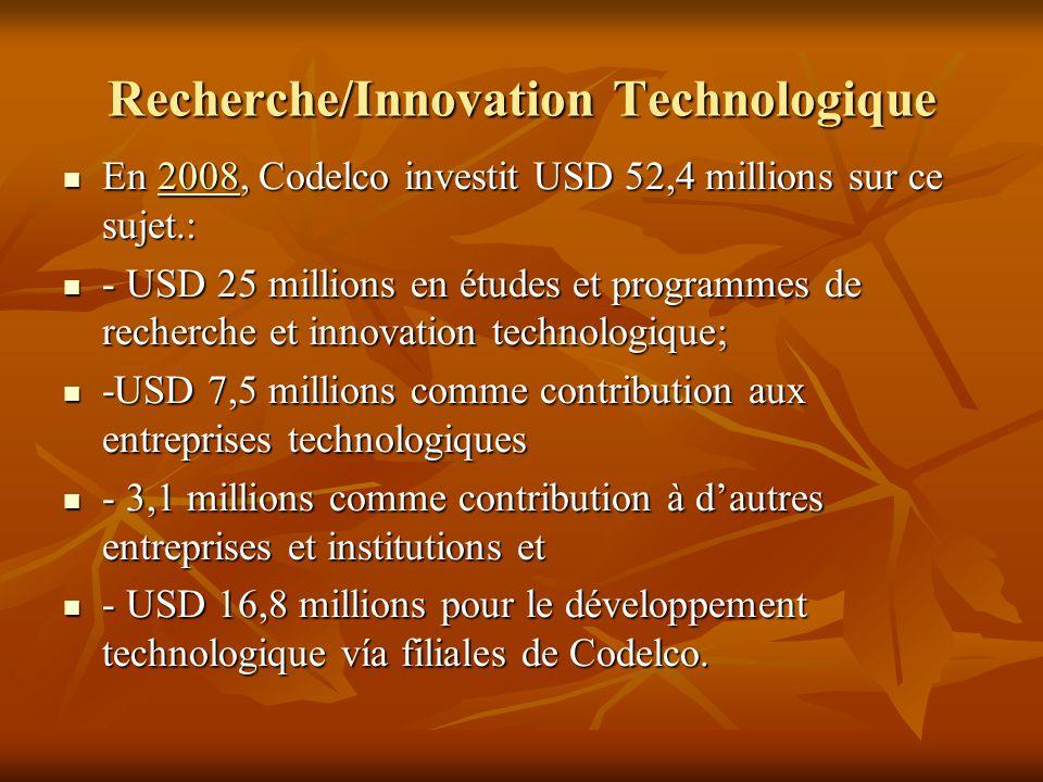 Recherche/Innovation Technologique