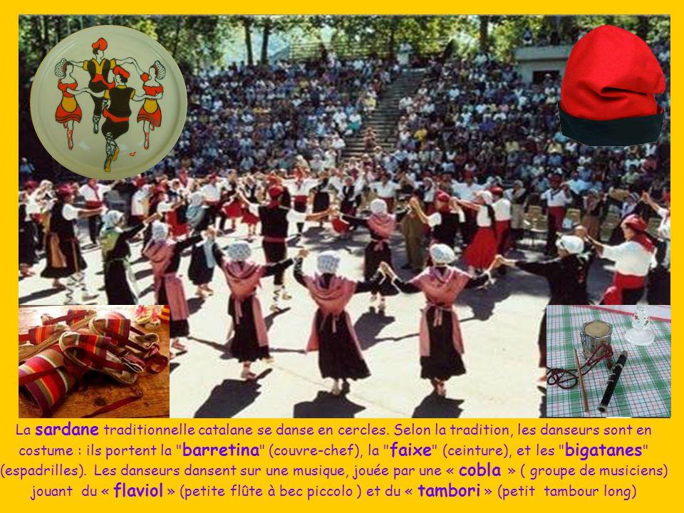 La sardane traditionnelle catalane se danse en cercles