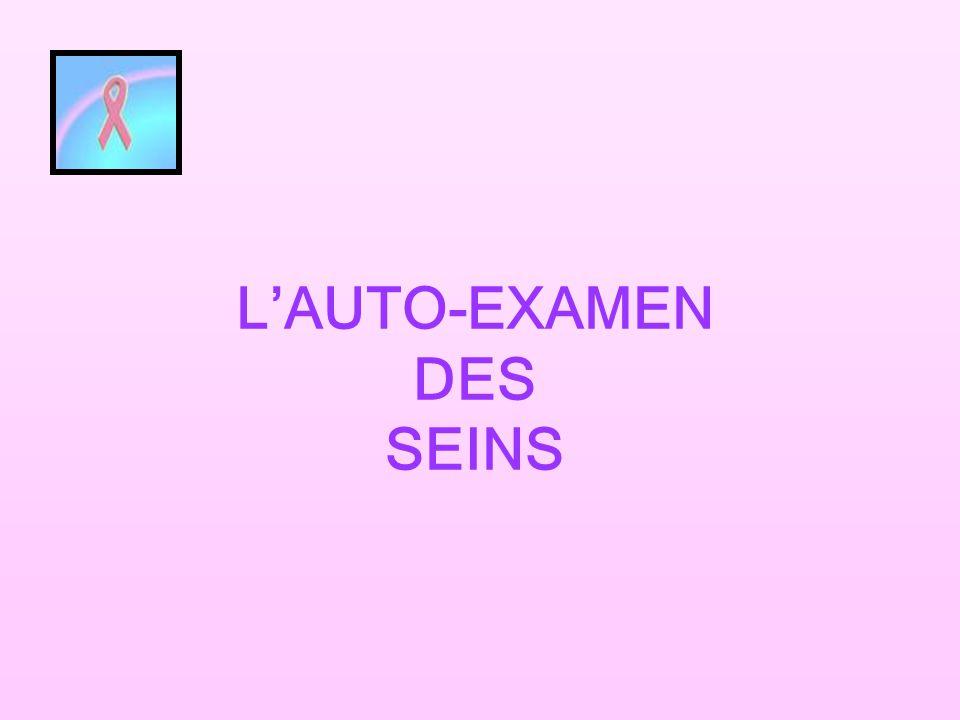 L'AUTO-EXAMEN DES SEINS