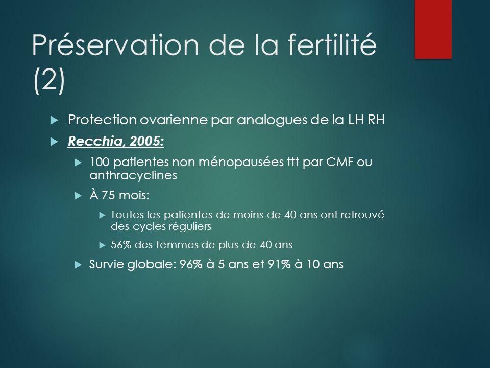 Préservation de la fertilité (2)
