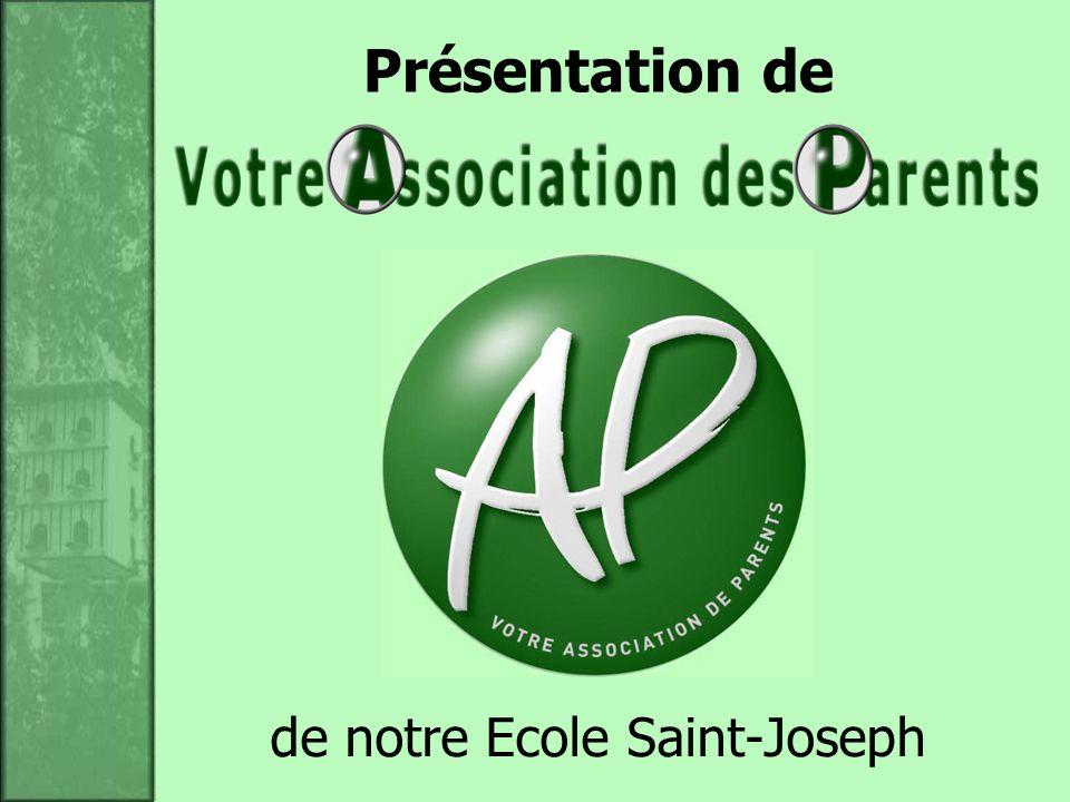 de notre Ecole Saint-Joseph