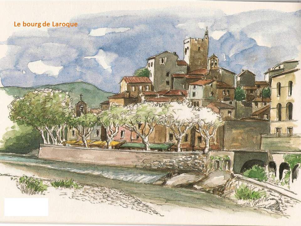 Le bourg de Laroque