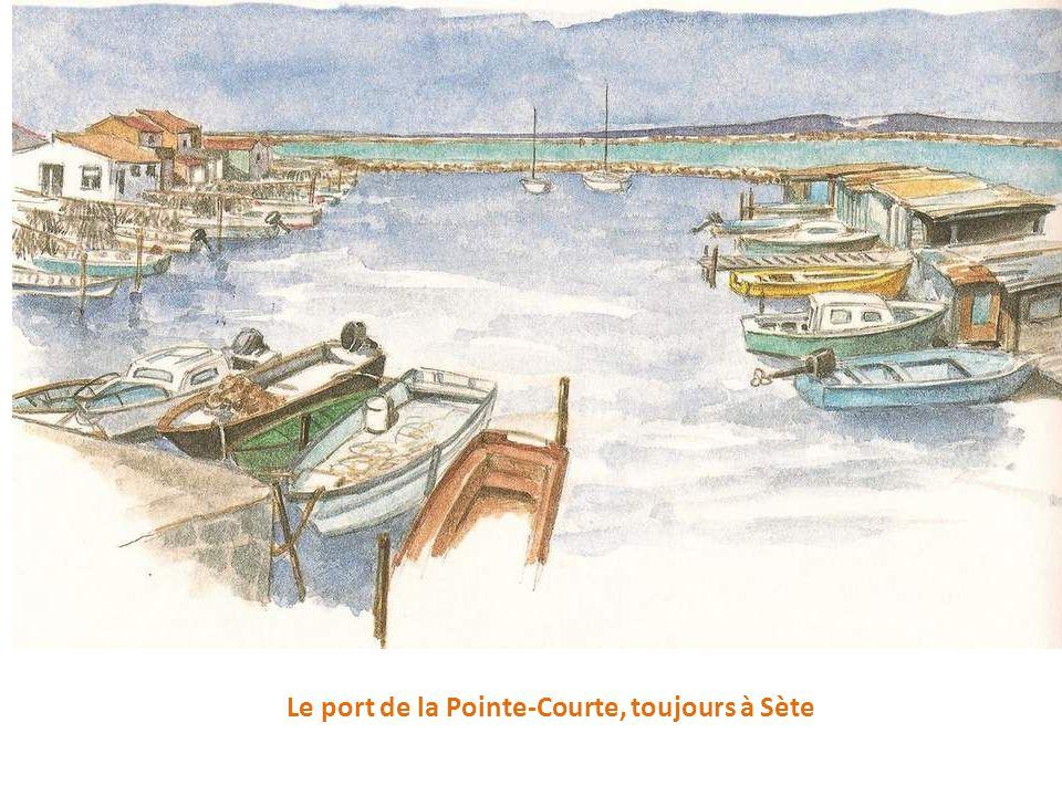 Le port de la Pointe-Courte, toujours à Sète