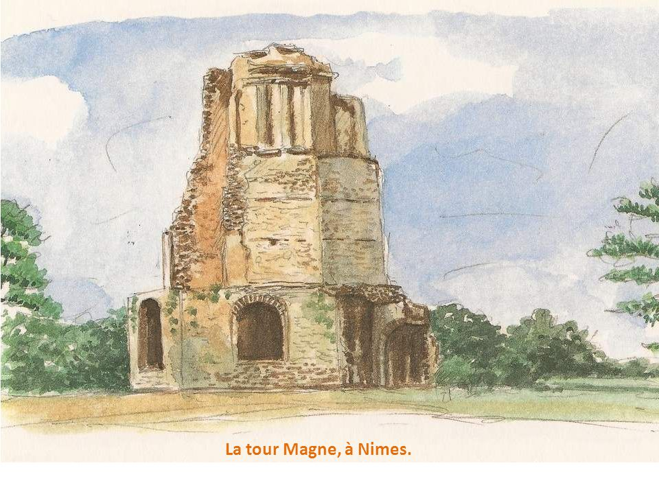 La tour Magne, à Nimes.