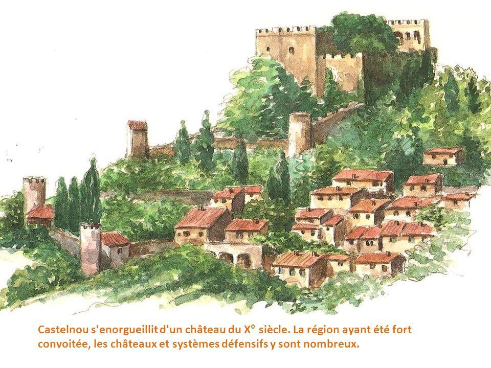 Castelnou s enorgueillit d un château du X° siècle