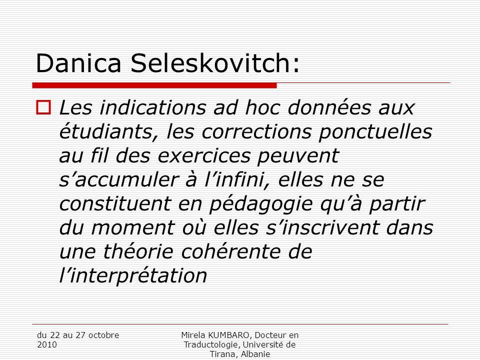 Danica Seleskovitch: