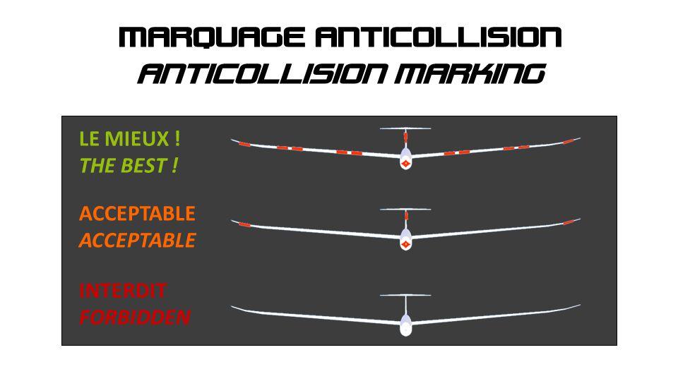 ANTICOLLISION MARKING