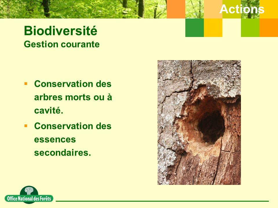 Biodiversité Gestion courante