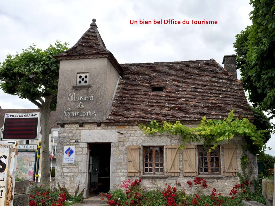 Un bien bel Office du Tourisme