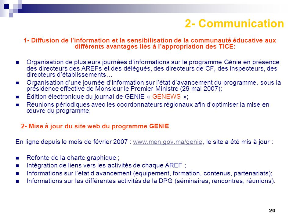 2- Communication