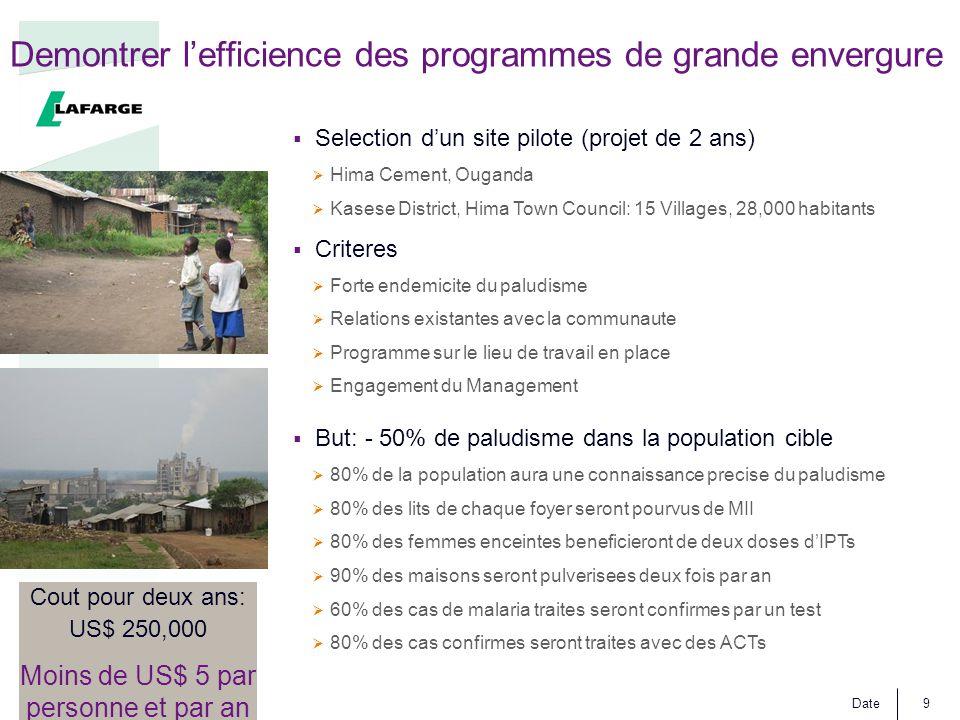 Demontrer l'efficience des programmes de grande envergure