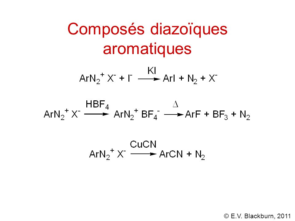 Composés diazoïques aromatiques