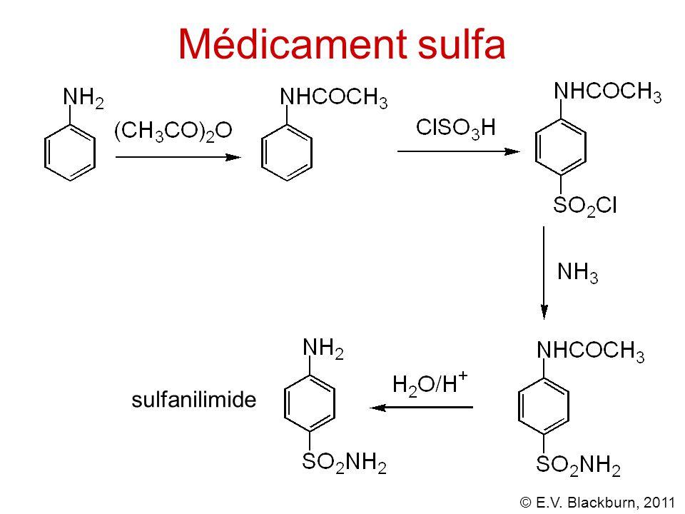 Médicament sulfa sulfanilimide