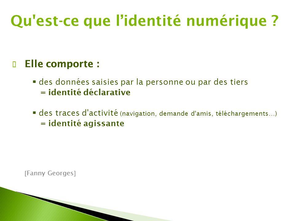Qu est-ce que l'identité numérique
