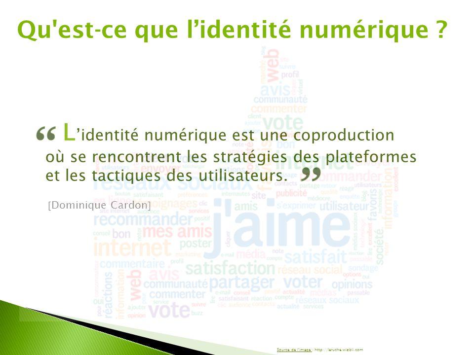 L'identité numérique est une coproduction