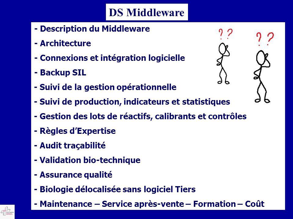 DS Middleware - Description du Middleware - Architecture