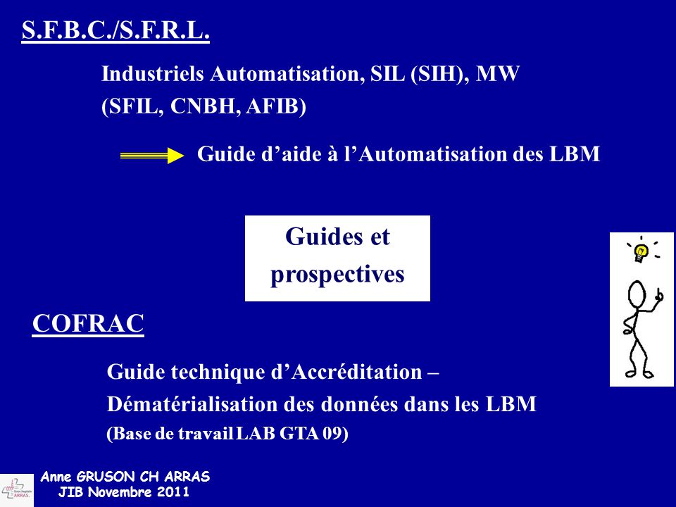 Guides et prospectives
