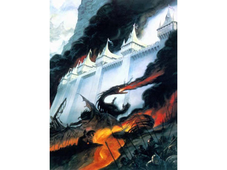 Gondolin en flammes