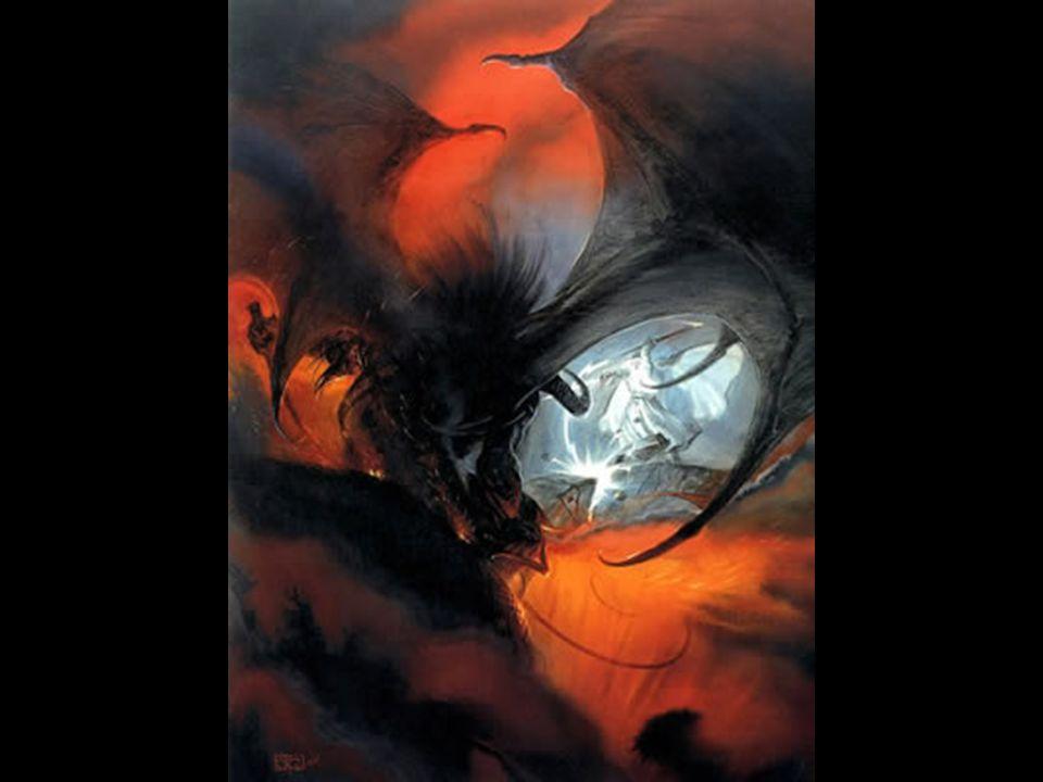 Gandalf et le balrog